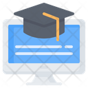 Online School Learning Icon