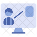 Online Learning Online Education Online Study Icon