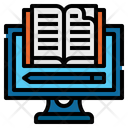 Education Computer Elearning Icon