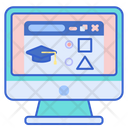 Browse Courses Online Internet Icon