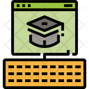 Web Page Online Learning Education Study Icon