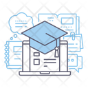 Elearning Education Learning Icon