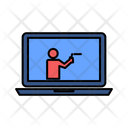 Online Learning Online Study Online Education Icon