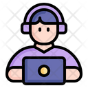 Online Learning Online Education Education Icon