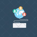 Online Web Learning Icon