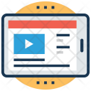 Online learning Video Icon