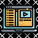 Video Lesson Course Icon