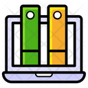 Online Library Icon