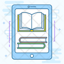 Ebooks Digital Library Online Library Icon