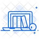 Online Library Digital Library E Library Icon
