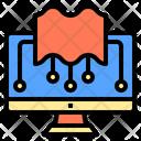 Homework Digital Learning Icon