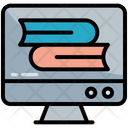 Books Library Online Icon