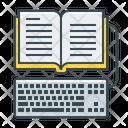 Online Library Ebook Ebook Online Library Icon