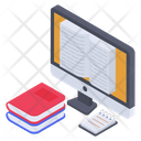 Online Library Software Icon