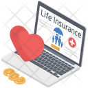 Online LIfe Insurance Icon