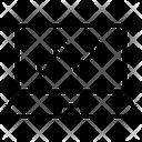 Online Line Graph Icon