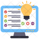 Online List Online Checklist Online Todo Icon