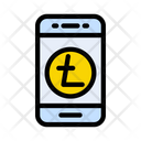 Payment Litecoin Mobile Icon