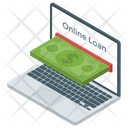Bank Website Online Banking Online Loan Icon