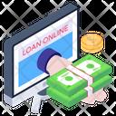 Online Loan Icon
