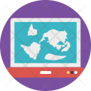 Online Location Maps Icon