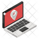 Online Map Map Locator Online Location Icon