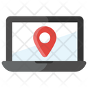 Online Location Map Location Pin Location Icon