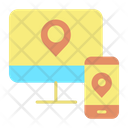 Mdevice Map Mobile Mac Online Location Mobile Location Icon
