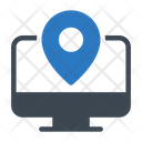 Location Online Map Icon