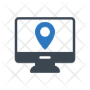 Online Location Map Icon