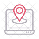 Location Map Online Icon