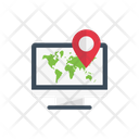Map Online Location Icon