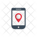 Map Location Mobile Icon