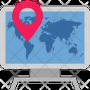Online Location Icon