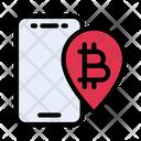 Location Bitcoin Map Icon