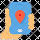 App Map Logistics Icon