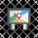 Location Board Map Icon