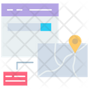 Online Location Tracking Icon