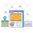 Online Logistics Icon