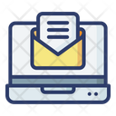Online Mail Online Email Online Message Icon