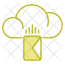 Mail Online Cloud Icon