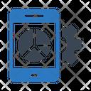Graph Chart Mobile Icon