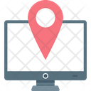 Online Map Icon
