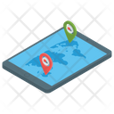 Online Location City Map Online Map Icon