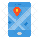 Navigation Map Travel Icon