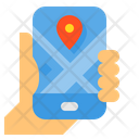 Navigation Map Travel Icon