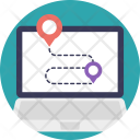 Online Map Location Icon