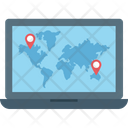 Online Maps Icon