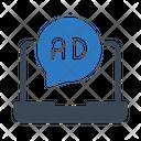 Ad Marketing Online Icon
