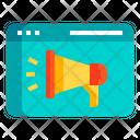 Iadvertising Online Marketing Advertising Icon